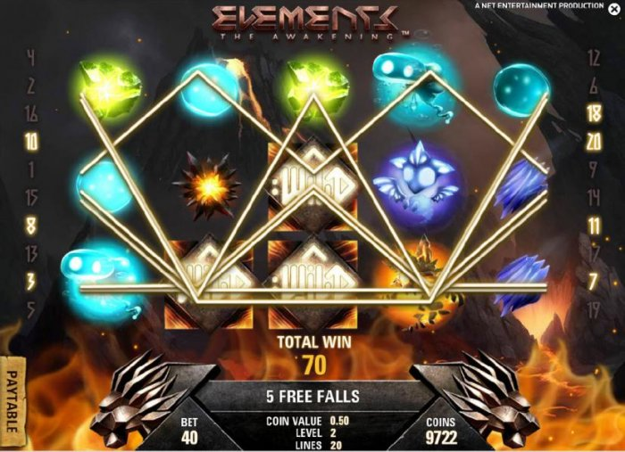 All Online Pokies image of Elements The Awakening