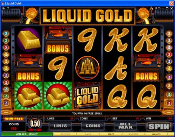 Images of Liquid Gold