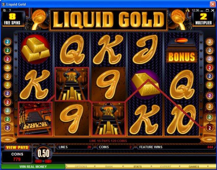Liquid Gold screenshot