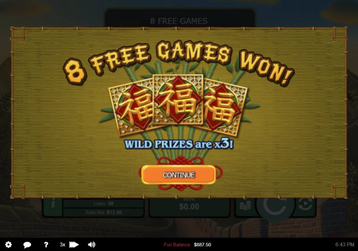 8 Free Spins Awarded by All Online Pokies