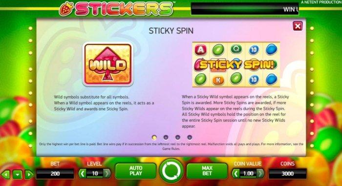 Stickers screenshot