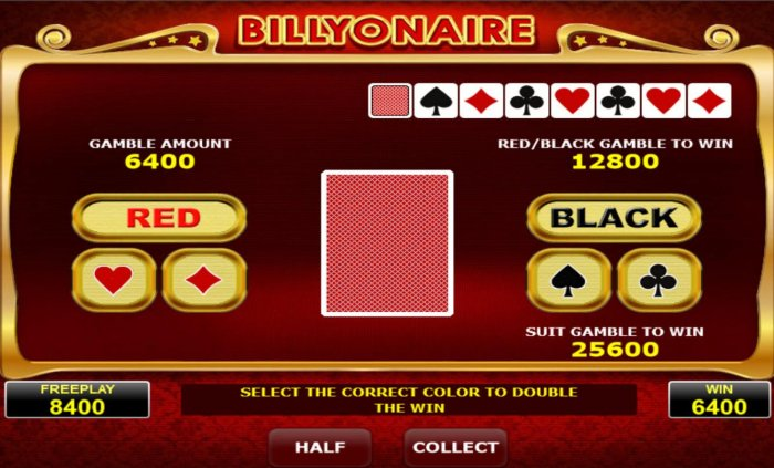 Billyonaire screenshot