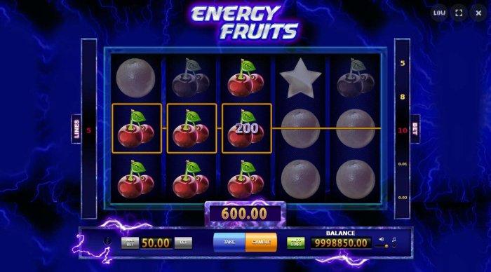 Energy Fruits screenshot