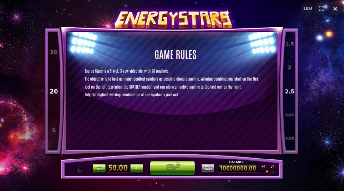General Game Rules by All Online Pokies