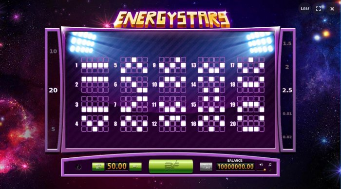 Energy Fruits by All Online Pokies