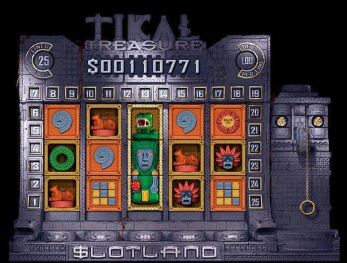 All Online Pokies image of Tikal Treasure