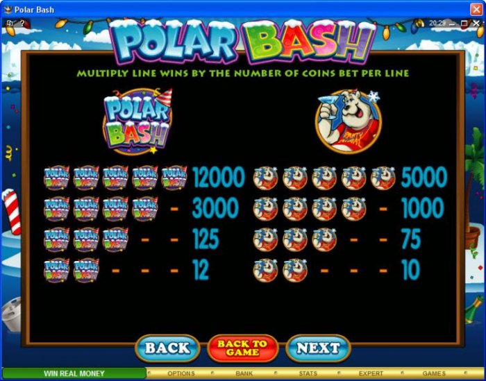 Polar Bash screenshot