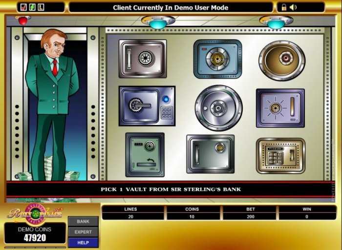 pick a vault to win a prize - All Online Pokies