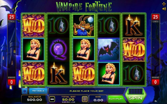 Vampire Fortune by All Online Pokies