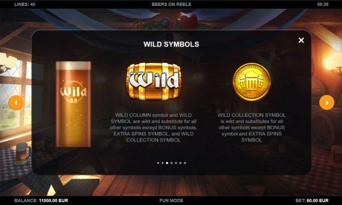 All Online Pokies image of Beers on Reels