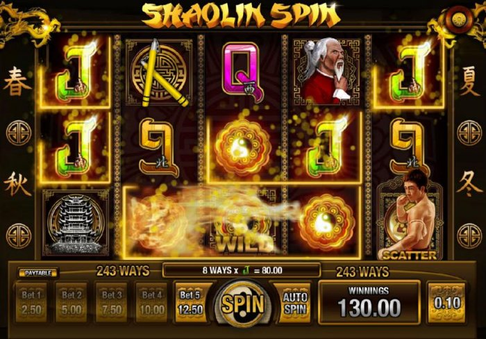 Shaolin Spin screenshot