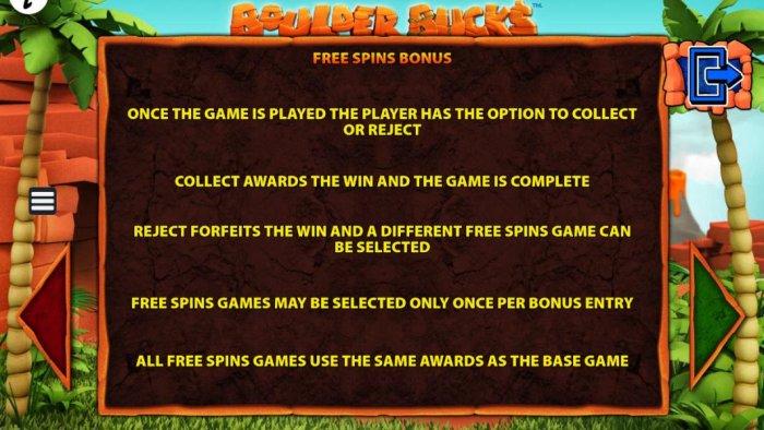 Boulder Bucks by All Online Pokies