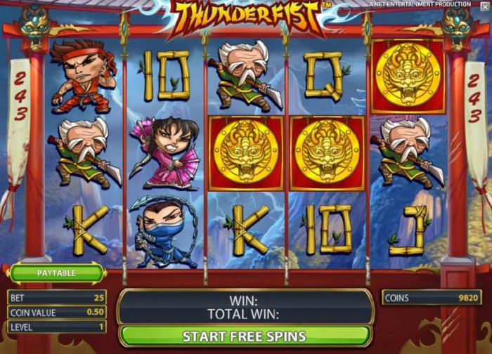 All Online Pokies - free spins feature game board