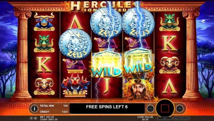 Hercules Son of Zeus screenshot
