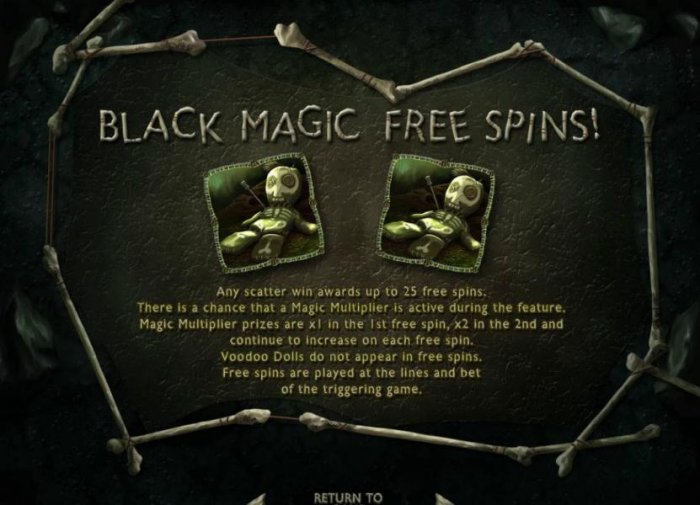 Black M<agic Free Spins game rules - All Online Pokies