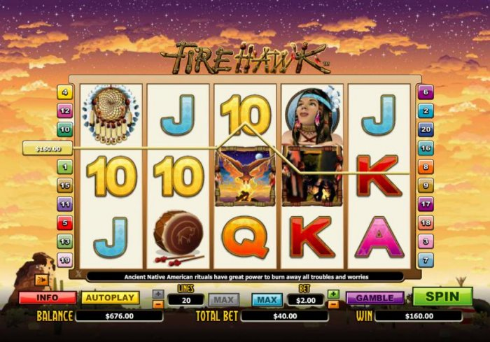 Fire Hawk by All Online Pokies