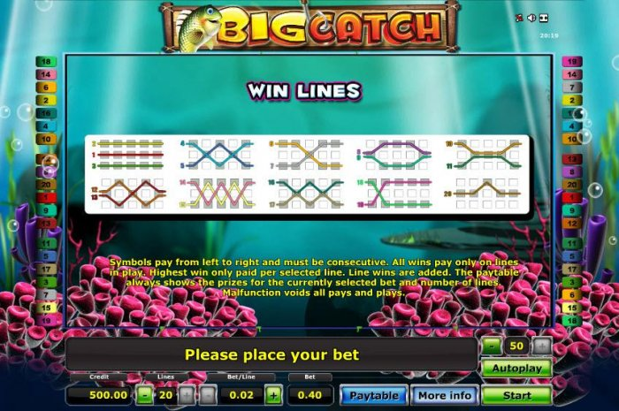 All Online Pokies image of Big Catch