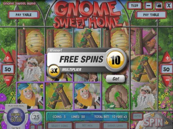 Gnome Sweet Home screenshot