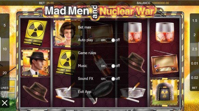 Mad Men and Nuclear War by All Online Pokies