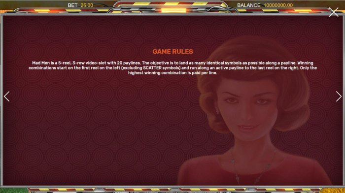 General Game Rules - All Online Pokies