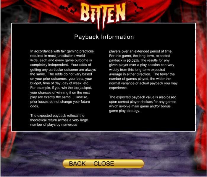 All Online Pokies image of Bitten