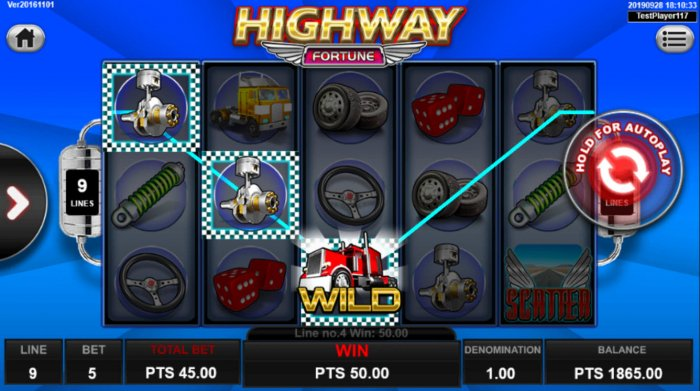 Highway Fortune by All Online Pokies