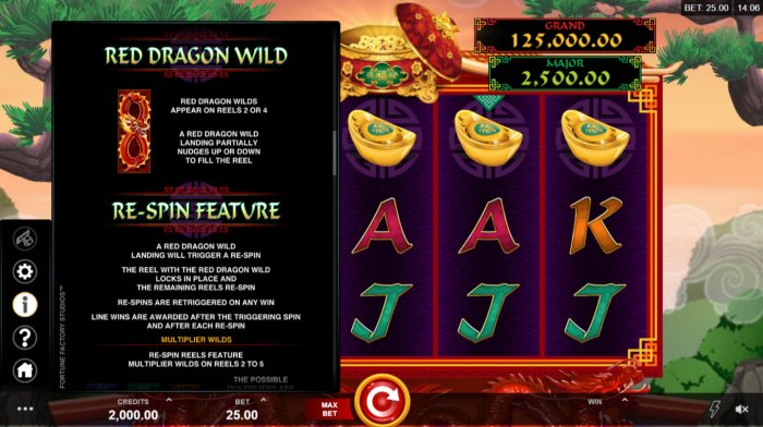 All Online Pokies image of Long Mu Fortunes