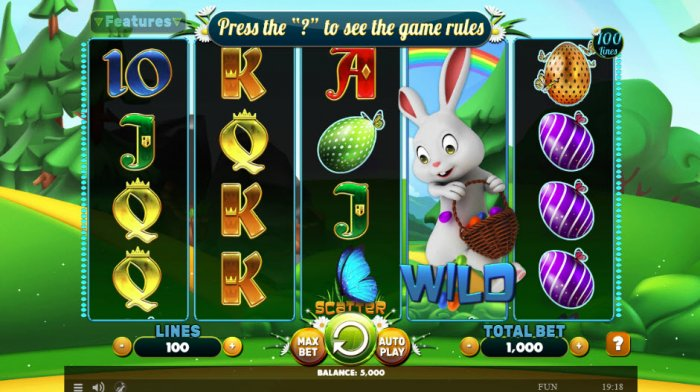 Main Game Board - All Online Pokies