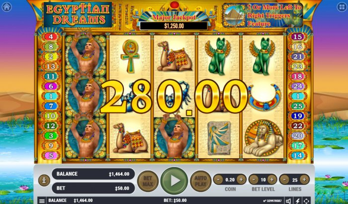 All Online Pokies image of Egyptian Dreams