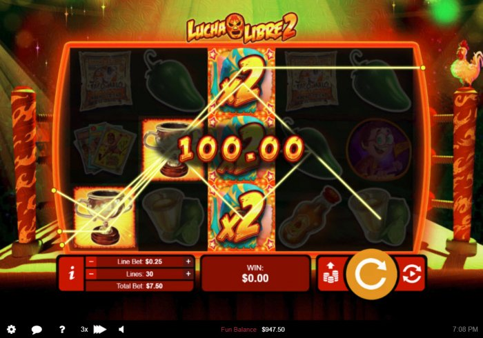 Lucha Libre 2 by All Online Pokies