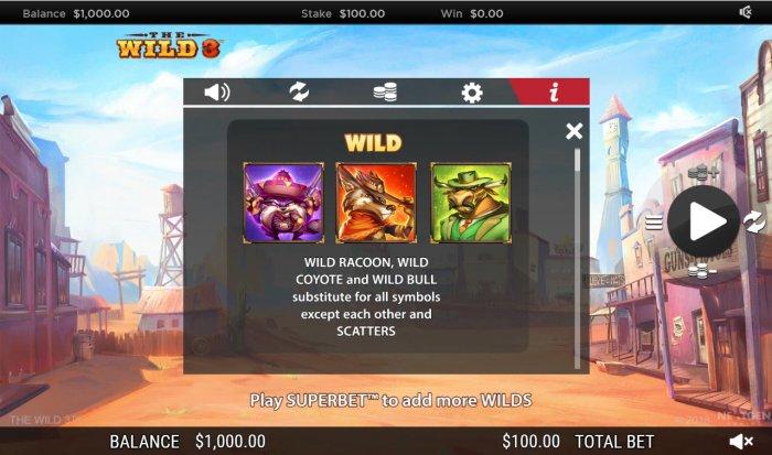 All Online Pokies - Wild Symbol Rules