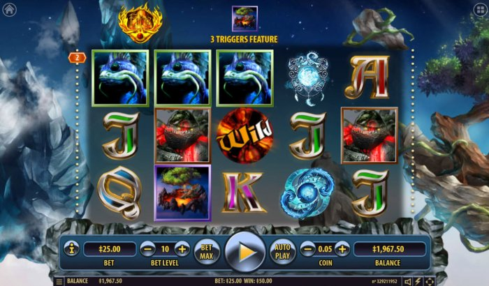 All Online Pokies image of Arcane Elements