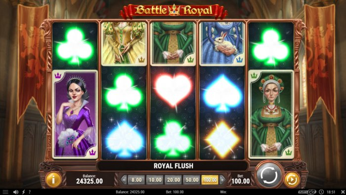 Battle Royal by All Online Pokies
