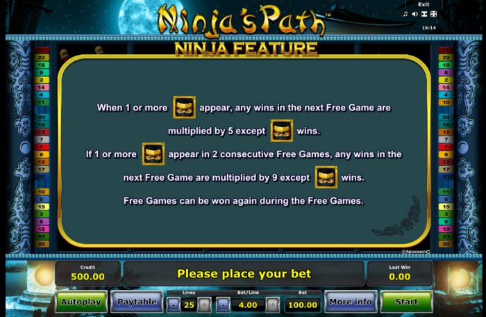 Ninja's Path screenshot