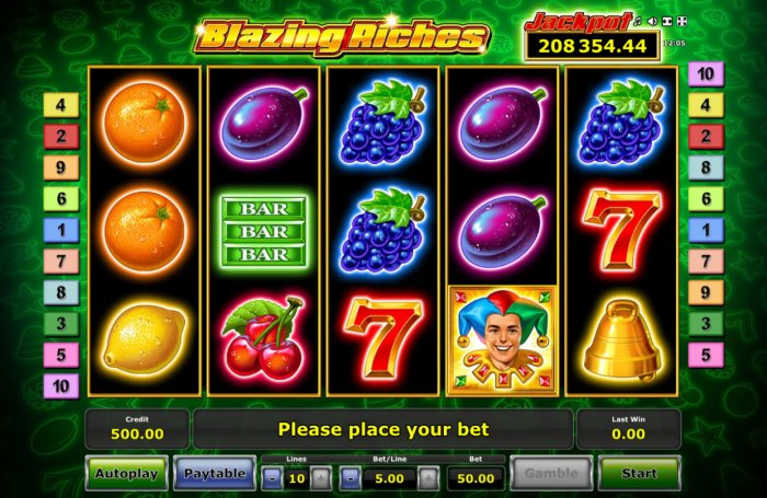 All Online Pokies image of Blazing Riches