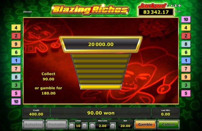 Blazing Riches screenshot