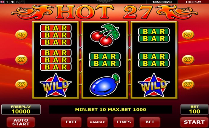 Hot 27 by All Online Pokies