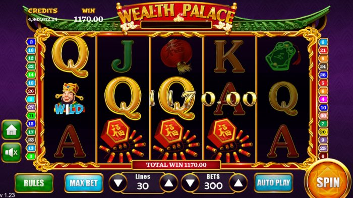 All Online Pokies image of Wealth Palace