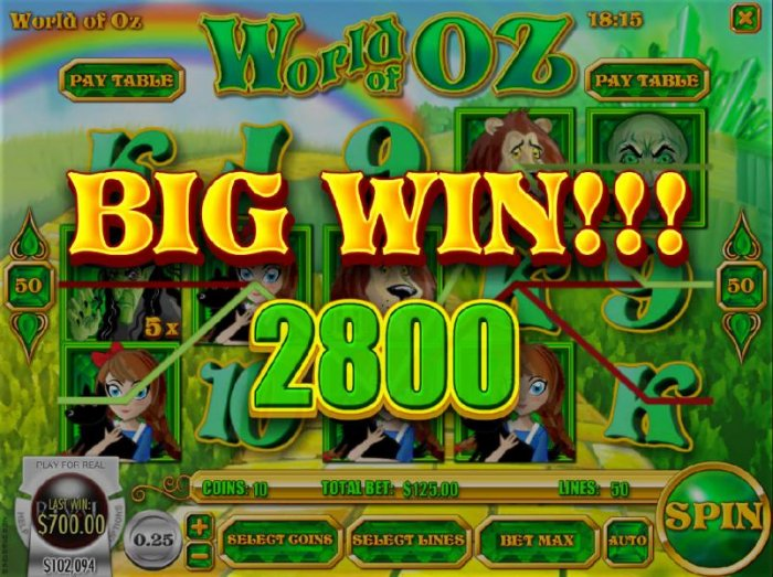World of OZ by All Online Pokies