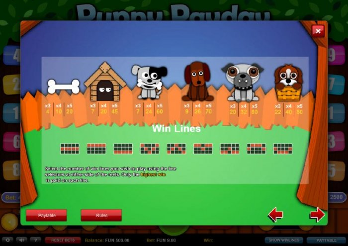 Puppy Payday by All Online Pokies