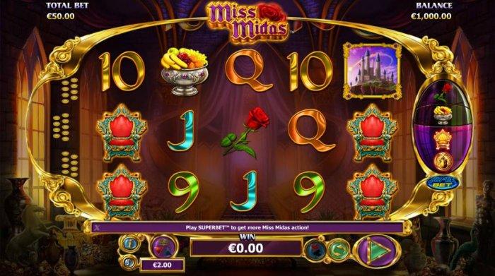Miss Midas by All Online Pokies