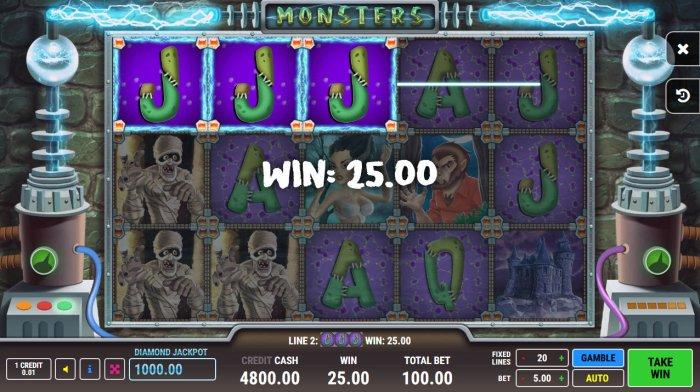 Monsters by All Online Pokies