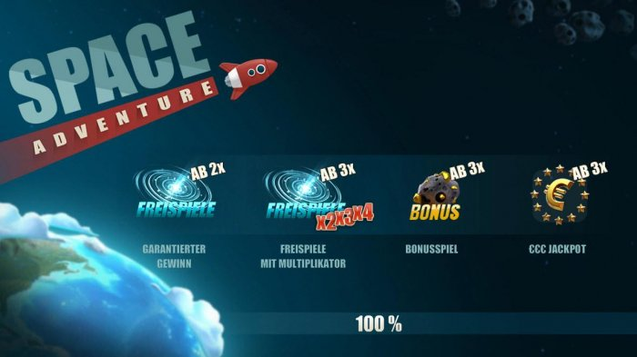 All Online Pokies image of Space Adventure