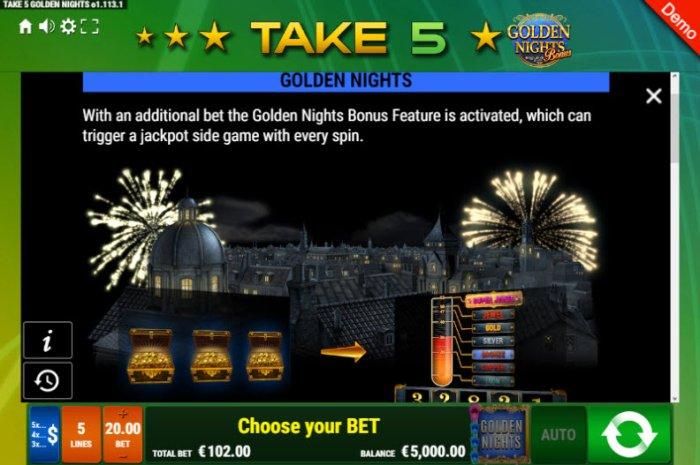 Images of Take 5 Golden Nights Bonus