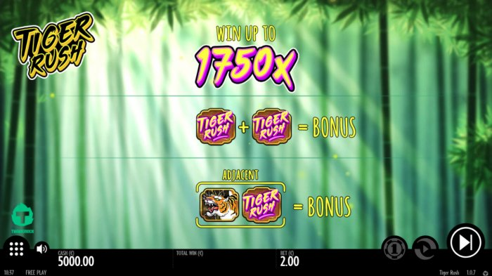Tiger Rush by All Online Pokies