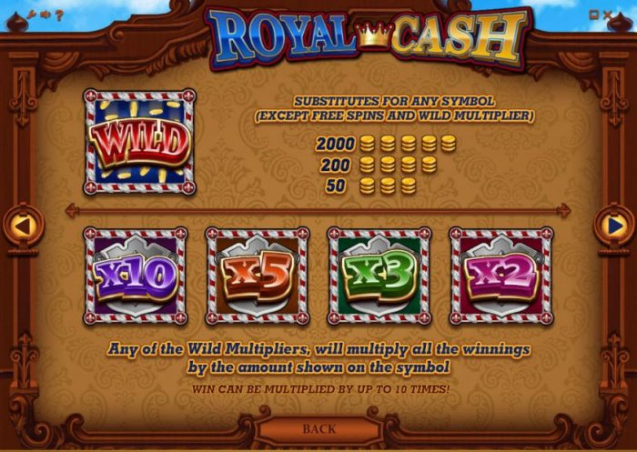 Royal Cash by All Online Pokies