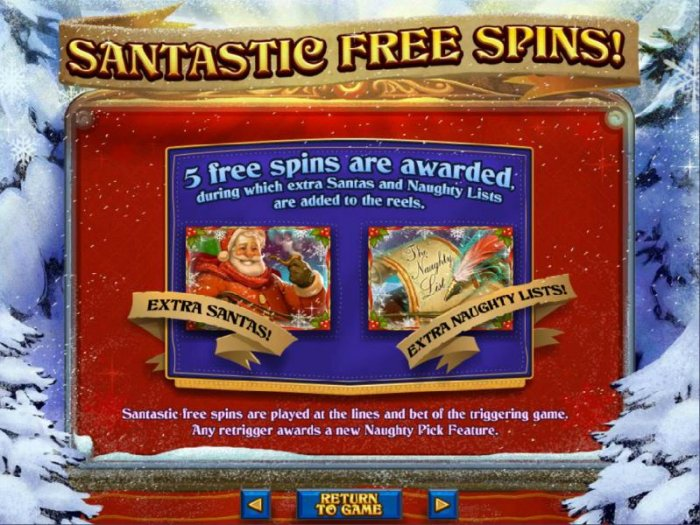 The Naughty List by All Online Pokies