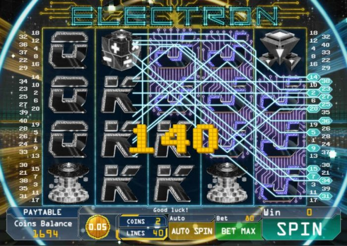 All Online Pokies image of Electron