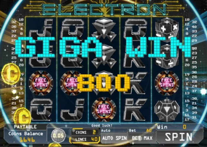 Electron by All Online Pokies
