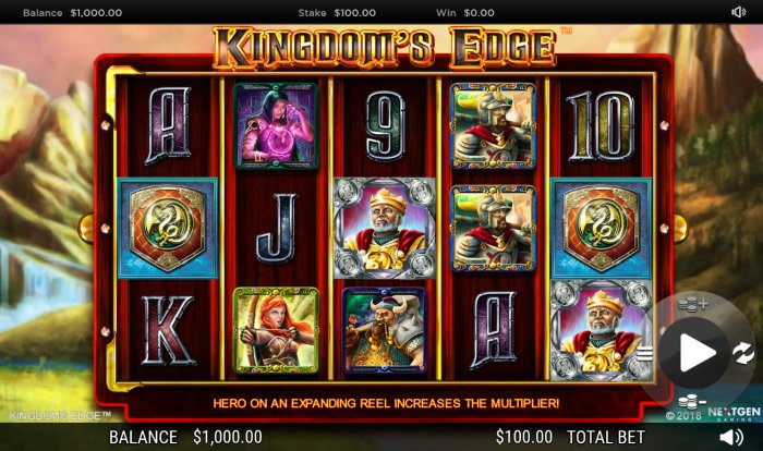 Kingdoms Edge 95 by All Online Pokies